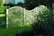 Diamond and Square Trellis