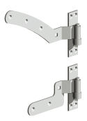 Curved Rail Hinge Kit